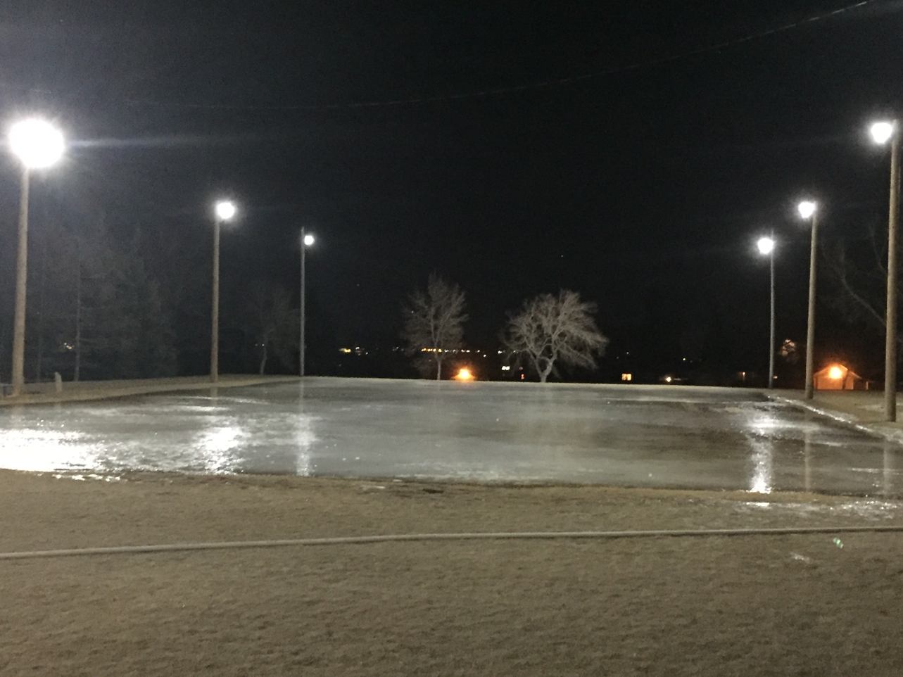 Enmax and the federation of calgary communities for their financial support in replacing our outdoor ice rink light fixtures with new led lighting